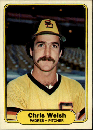 Photo of 1982 Fleer #584 Chris Welsh