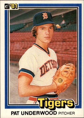 Photo of 1981 Donruss #368 Pat Underwood