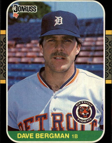 Photo of 1987 Donruss #420 Dave Bergman