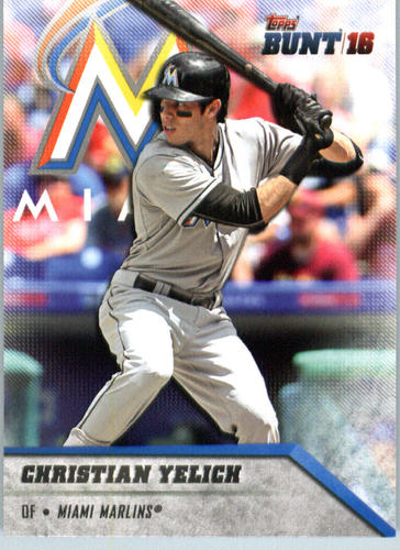 Photo of 2016 Topps Bunt #17 Christian Yelich