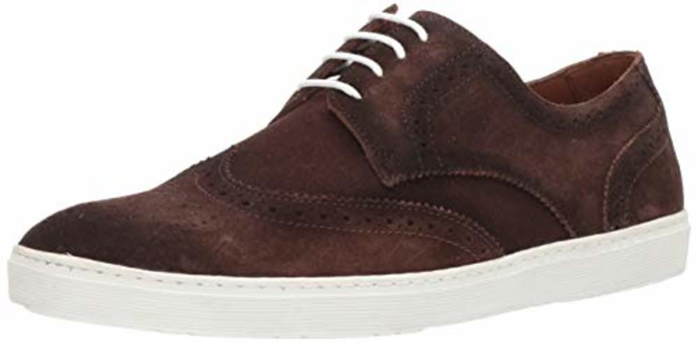 Photo of Driver Club USA Mens Leather Princeton Wingtip Laceup Sneaker