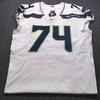 Crucial Catch - Seahawks George Fant Game Used Jersey (10/14/18) Size 48