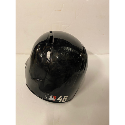 Photo of Bryse Wilson Team Issued Home Helmet