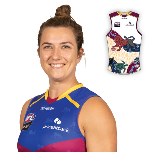 Photo of 2021 AFLW Indigenous Guernsey - Cathy Svarc