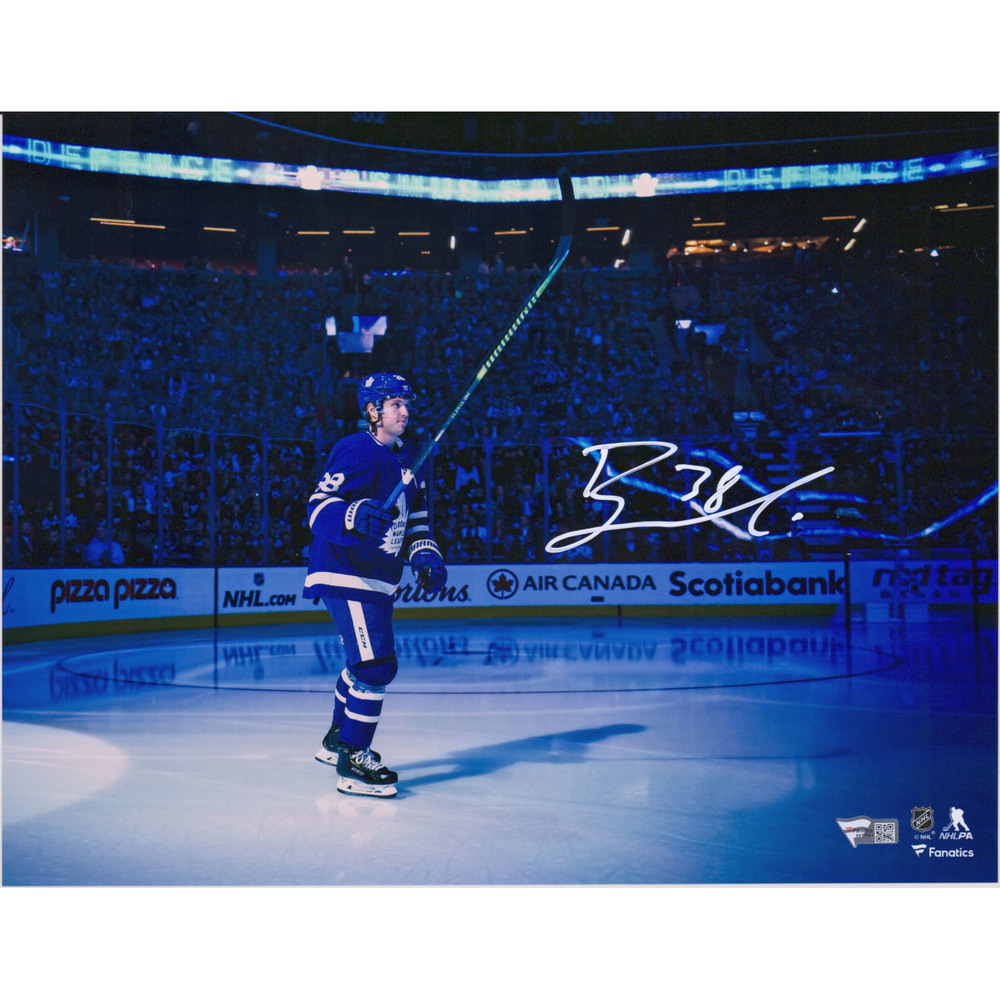 Rasmus Sandin Toronto Maple Leafs Autographed 11