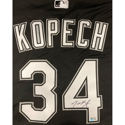 Photo of Michael Kopech Autographed Jersey - Size 46