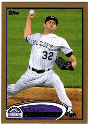 Photo of 2012 Topps Update Gold #US210 Tyler Chatwood