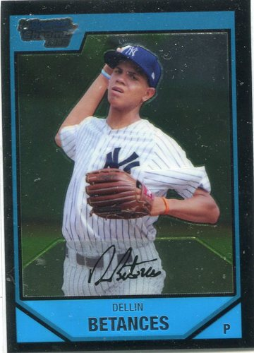 Photo of 2007 Bowman Chrome Prospects #BC5 Dellin Betances Pre-Rookie Card