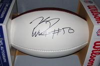 NFL - SEAHAWKS K. J. WRIGHT SIGNED PANEL BALL