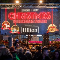 Photo of Fascinating Aida at Christmas in Leicester Square - click to expand.