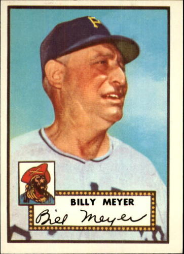 Photo of 1983 Topps 1952 Reprint #387 Billy Meyer MG