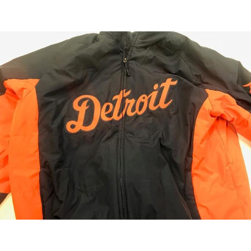 Photo of 2016 Team-Issued Detroit Tiger #4 Road Bench Jacket