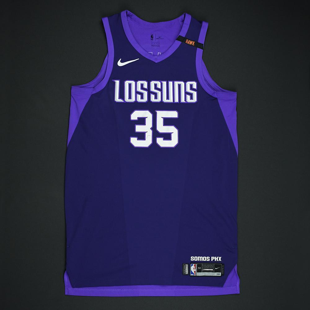 Dragan Bender - Phoenix Suns - Game-Worn 'Los Suns' City Jersey - 2017-18 Season