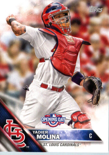 Photo of 2016 Topps Opening Day #OD62 Yadier Molina