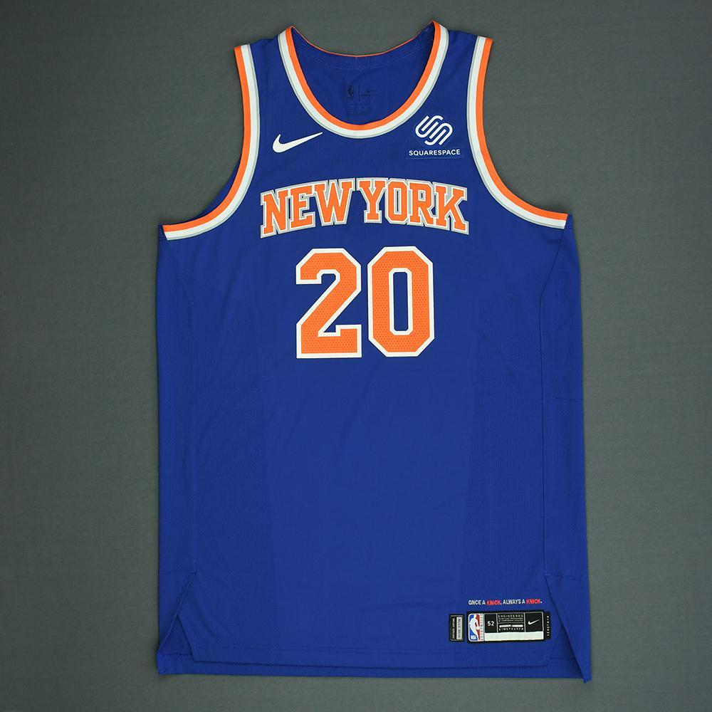 Kevin Knox - New York Knicks - 2018 NBA Draft - Autographed Jersey ... 02794fccf