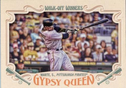 Photo of 2016 Topps Gypsy Queen Walk Off Winners #GWO6 Starling Marte