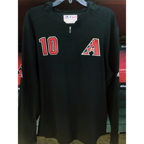 #10 Team-Issued 2019 Black Hooded Pullover