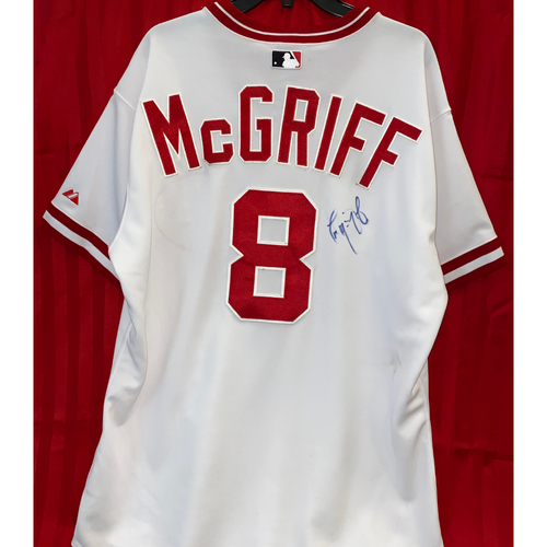 Photo of Terry McGriff Signed Jersey