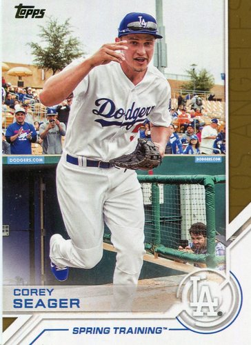 Photo of 2017 Topps Salute #S180 Corey Seager