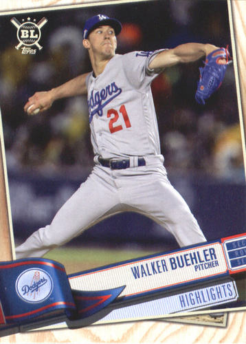 Photo of 2019 Topps Big League #391 Walker Buehler