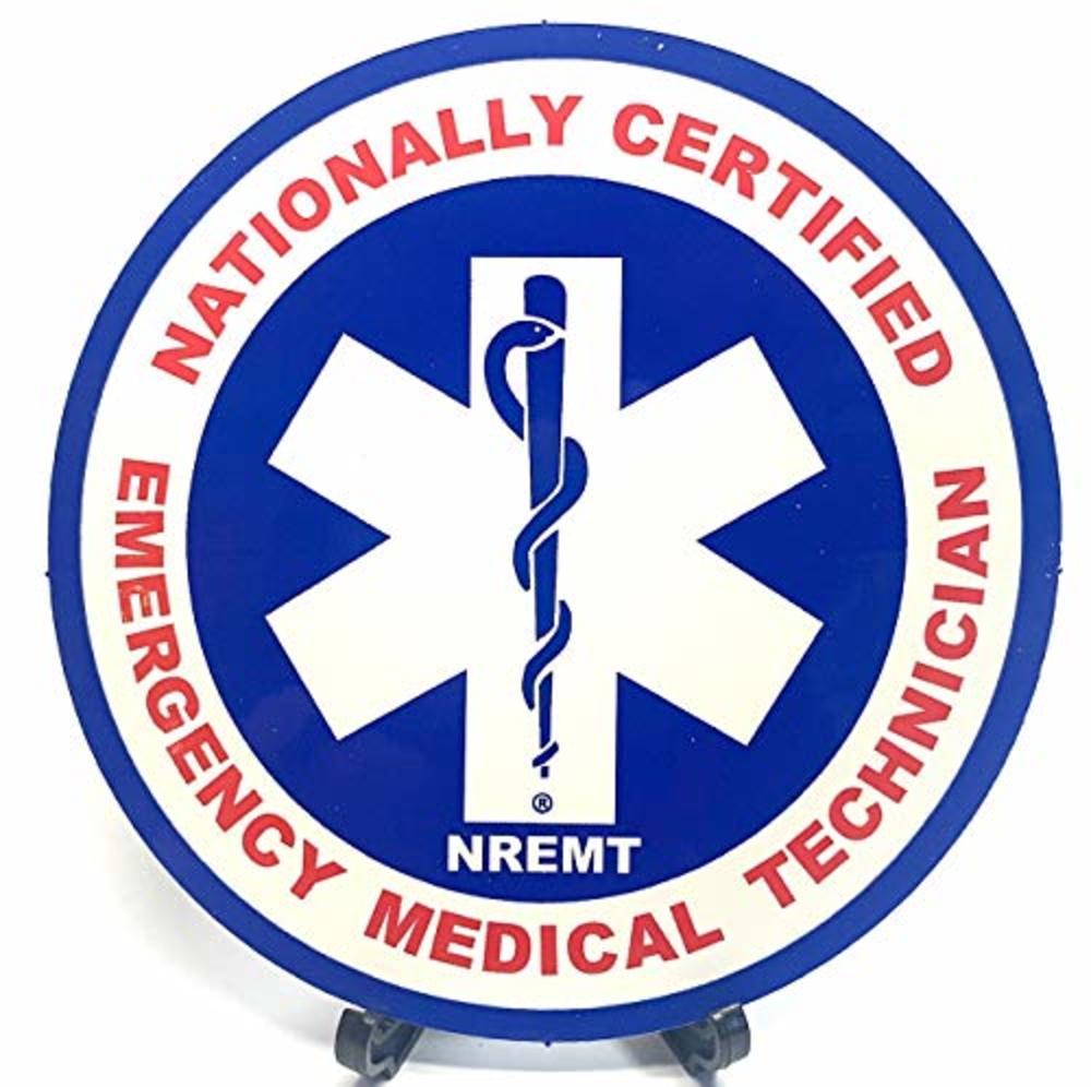 Photo of National Registry of EMTs NREMT Decal