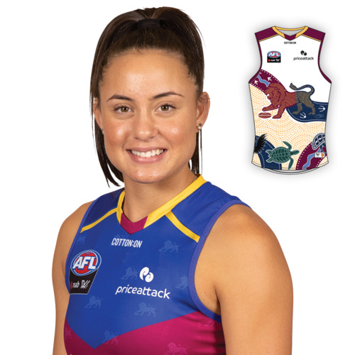 Photo of 2021 AFLW Indigenous Guernsey - Indy Tahau