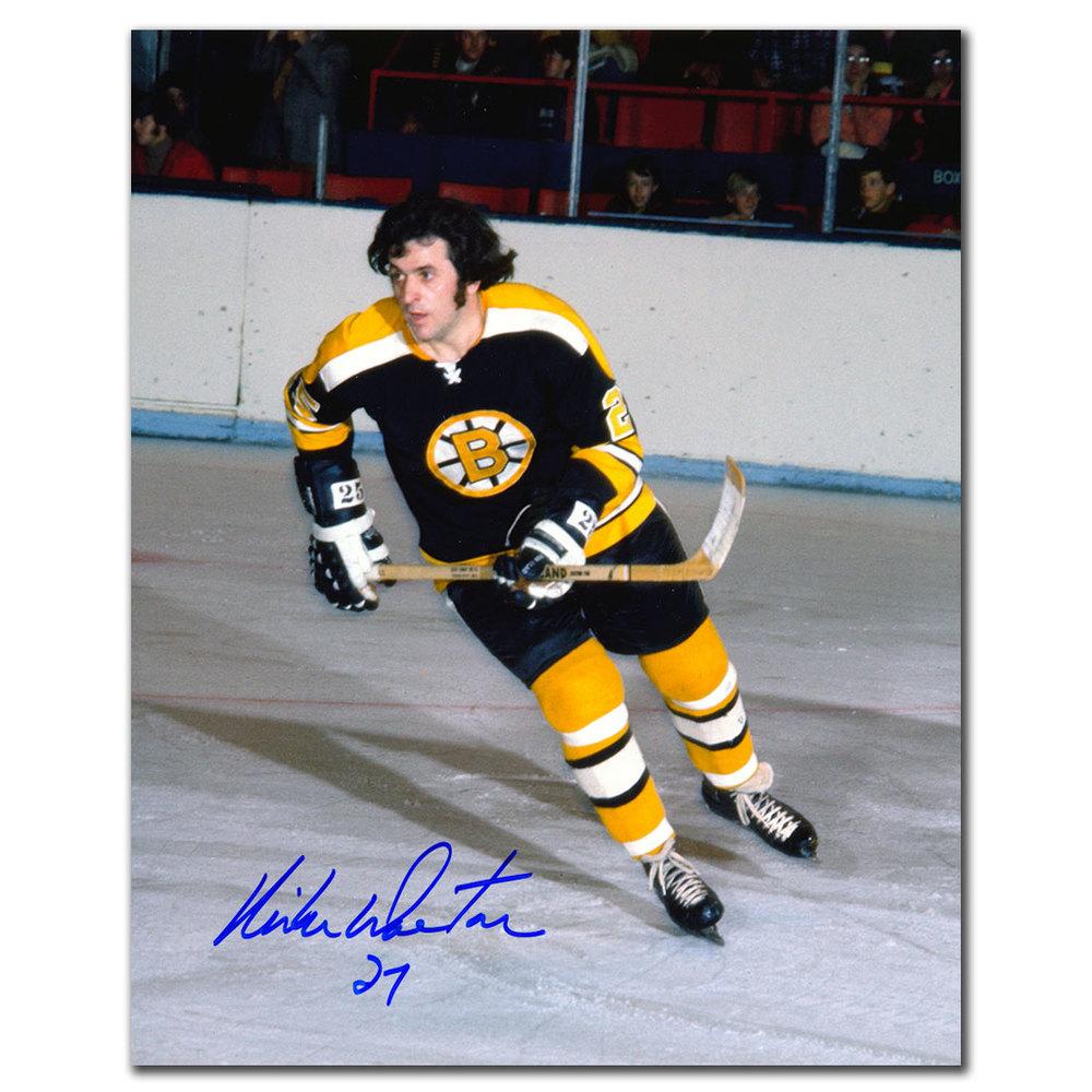 Mike Walton Boston Bruins Autographed 8x10