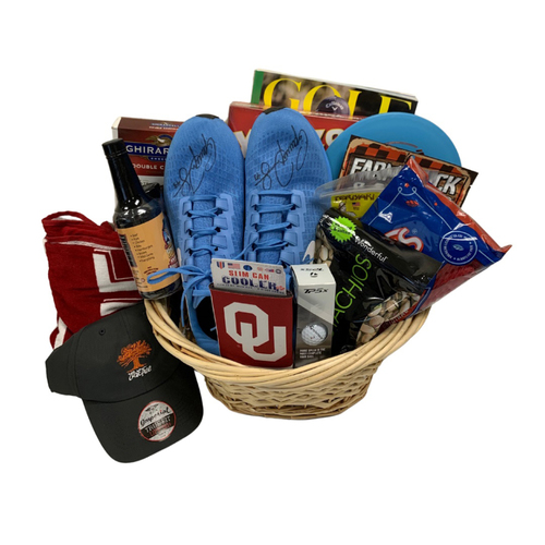 Photo of Garrett Richards Favorite Things Basket