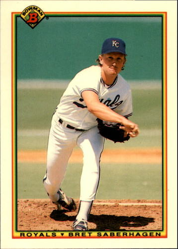 Photo of 1990 Bowman Tiffany #364 Bret Saberhagen