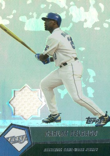 Photo of 2004 Topps Clubhouse Relics #CD Carlos Delgado Jsy A/200