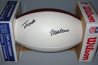 NFL - BENGALS JOSH MALONE SIGNED PANEL BALL