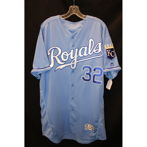 Game-Used Jersey: Brandon Maurer (Size 48 - ARI at KC - 10/1/17 )