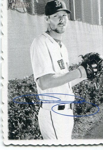 Photo of 2018 Topps Heritage '69 Topps Deckle Edge #26 Chris Sale   Facsimile autograph