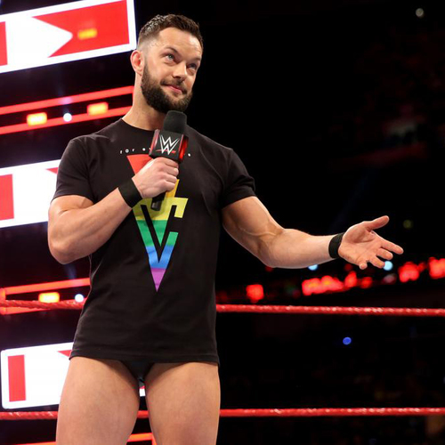 "Photo of Finn Bálor WORN & SIGNED ""Bàlor Club For Everyone"" T-Shirt (RAW - 04/09/18)"
