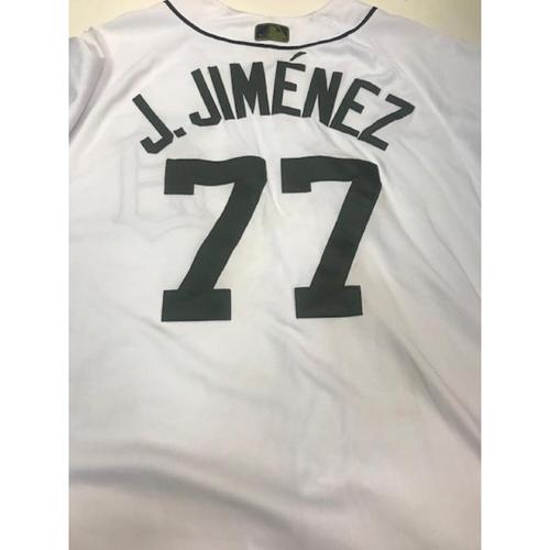 Photo of Game-Used Joe Jimenez Memorial Day Jersey