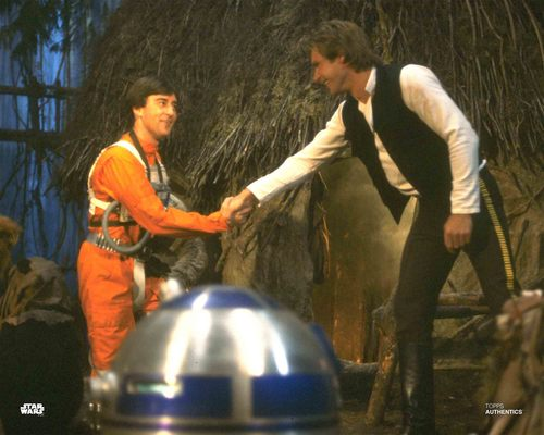 Han Solo and Wedge Antilles