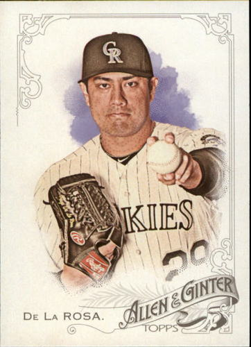 Photo of 2015 Topps Allen and Ginter #307 Jorge De La Rosa