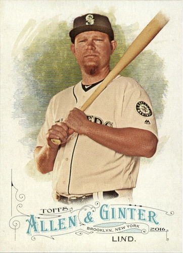 Photo of 2016 Topps Allen and Ginter #233 Adam Lind
