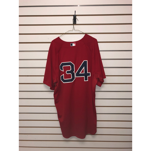 Photo of David Ortiz Team Issued 2014 Home Alternate Jersey