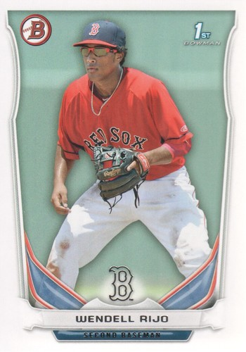 Photo of 2014 Bowman Prospects #BP12 Wendell Rijo