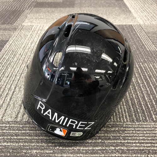 Photo of 2017 Spring Training Batting Helmet - #59 Neil Ramirez - Size 7 1/8