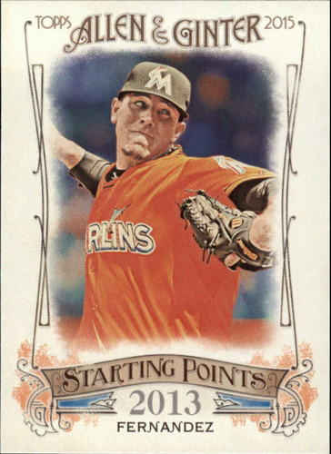 Photo of 2015 Topps Allen and Ginter Starting Points #SP43 Jose Fernandez