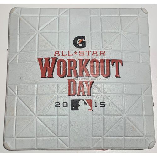 Photo of 2015 All Star Game Workout Day Game Commemorative Base 3rd Base - July 13th