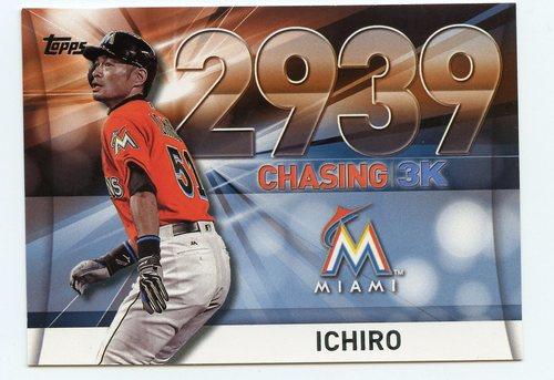 Photo of 2016 Topps Chasing 3000 #300034 Ichiro Suzuki