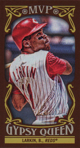 Photo of 2016 Topps Gypsy Queen MVP Minis #MVPMBL Barry Larkin
