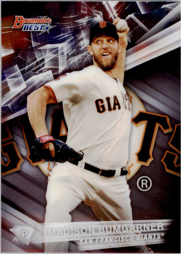 Photo of 2016 Bowman's Best #27 Madison Bumgarner