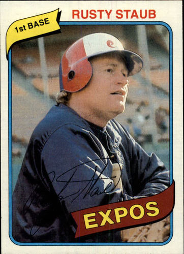 Photo of 1980 Topps #660 Rusty Staub
