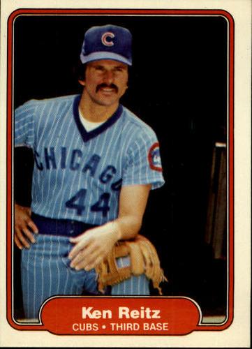 Photo of 1982 Fleer #602 Ken Reitz