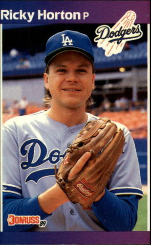 Photo of 1989 Donruss #582 Ricky Horton DP