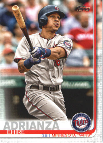 Photo of 2019 Topps #608 Ehire Adrianza